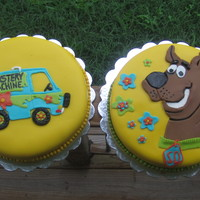 Scooby Doo Brother And Sister Birthday Wasc With Vanilla Buttercream And Dark Chocolate Cake With Vanilla Buttercream 2D Fondant Covere scooby doo brother and sister birthday. wasc with vanilla buttercream and dark chocolate cake with vanilla buttercream. 2D fondant covered...