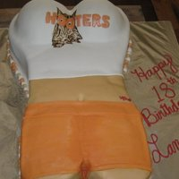 Landons 18Th Hooters Cake