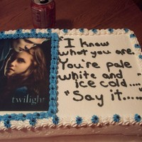 Twilight Cake all ice cream cake
