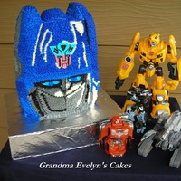 Optimus Prime Cake Yashua's 5th Birthday Cake
