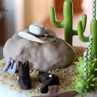 Western Cake For A 4 Year Old's Birthday Party