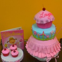 Pinkalicious Cake Cake was made to go along with the birthday girls favorite book!
