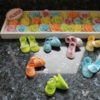 Baby Shoe's And Roses........