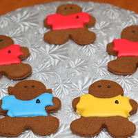 U.s.s. Enterprise Crew Star Trek Gingerbread Men :)Mostly red shirts.....for good reason.