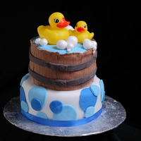 Bubbles And Ducks   For a baby shower!