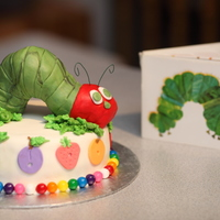 The Very Hungry Caterpillar Cake The Very Hungry Caterpillar Cake