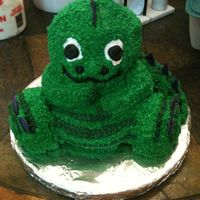 Baby Dino Baby Dino I used the Wilton Bear pan for this cake.