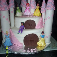 Princess Castle This was made in an awful hurry, I had less than 24hrs to make it from start to finish. The things we do for a friend. Vanilla cake with...