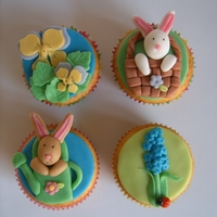 Spring Cupcakes   Thanks to sjlh for the inspiration!
