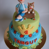 Diego And Baby Jaguar Cake