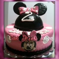 Mini Mouse Cake This cake was made for a little girls 2nd birthday. I hope you like it. Tell me what you think.