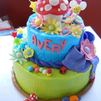 Tinkerbell Cake And Cupcakes