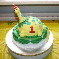 Dino-Cake For my son's first birthday