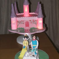 Fairytale Castle With Prince And Princess Tea Party