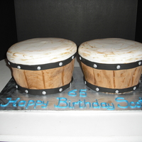 Bongo Cake This was for a gentleman who played the bongos at church. I had no idea how to do this cake, but I think they turned out pretty good. It...