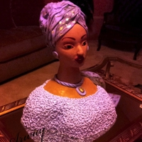 African Lady Cake