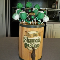 Happy St Patrick's Day   Guinness Beer Chocolate Cake Pops