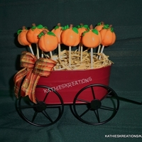 Thanksgiving Pumpkin Cake Pops THANKSGIVING PUMPKIN CAKE POPS inspried by Yuki