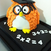 Owl Graduation Cake Wise Owl Graduation Cake