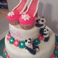 Pandas, Daisies And Shoes
