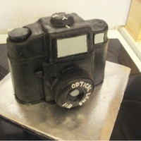 Holga Camera Cake A Holga camera cake, not much more I can say about this one