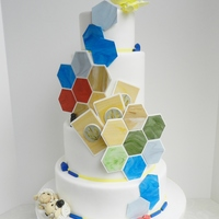 The Settler's Of Catan Inspired Cake