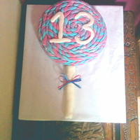 Lollypop Cake!