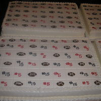 Graduation Sheet Cakes 12x18 graduation sheet cakes Tailgate theme