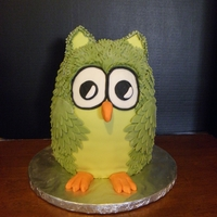 Owl Birthday Cake Owl cake I made a couple of weeks ago for my daughters Birthday.