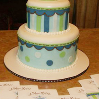 "A New Little Prince Themed Baby Shower Cake Cake made to match the theme of the baby shower, ""A New Little Prince"""
