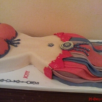 Belly Dance Cake For Henna Night Cake Gallery On Cake Central