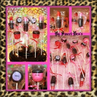 Mac Makeup Cakepops MAC makeup cakepops