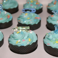Baby Boy Baby Shower baby shower cupcakes