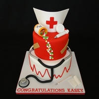 Nursing Graduation Cake   Nursing Graduation Cake
