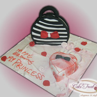 Purse And Gift Cake Purse and Gift Cake