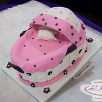 Bassinet Cake Dont You Just Love The Pillow Peeking Out Bassinet Cake.. Don't you just love the pillow peeking out :)