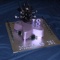 Purple Star Cake