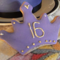 Purple Cookies For 16Th