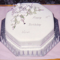 Fondant Covered Fruit Cake