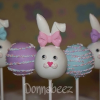 Easter Bunnies Easter Bunny Cake Pops