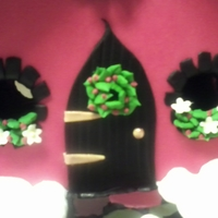 An Elf House All Decked Out For Christmas!