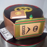 Gucci Watch Cake Cake for a gentleman who loves all things Gucci