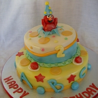 Elmo Themed Cake