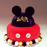 Mickey Mouse Disney Inspired Cake