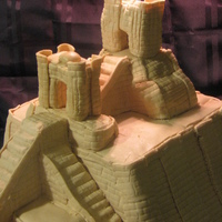 Ziggurat Of Ur Cake of the Ziggurat of Ur in Iraq, for the Museum of Archaeology