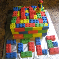 Lego Lego cake for Cole