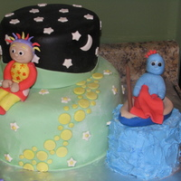 In The Night Garden Second In The Night Garden cake, wanted to make it a little different.. TFL!