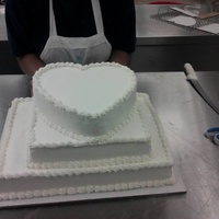 Wedding Cake Created By 3 Talented Women At My Job.
