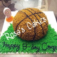 Basketball Cake This Was A Quick One For My Sons Bday Basketball cake. This was a quick one for my sons bday.