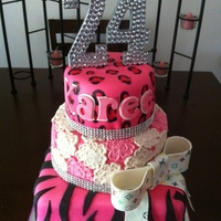 24Th Diva Birthday Cake
